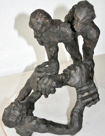 BASTON sculpture Jean-Pierre Horiot