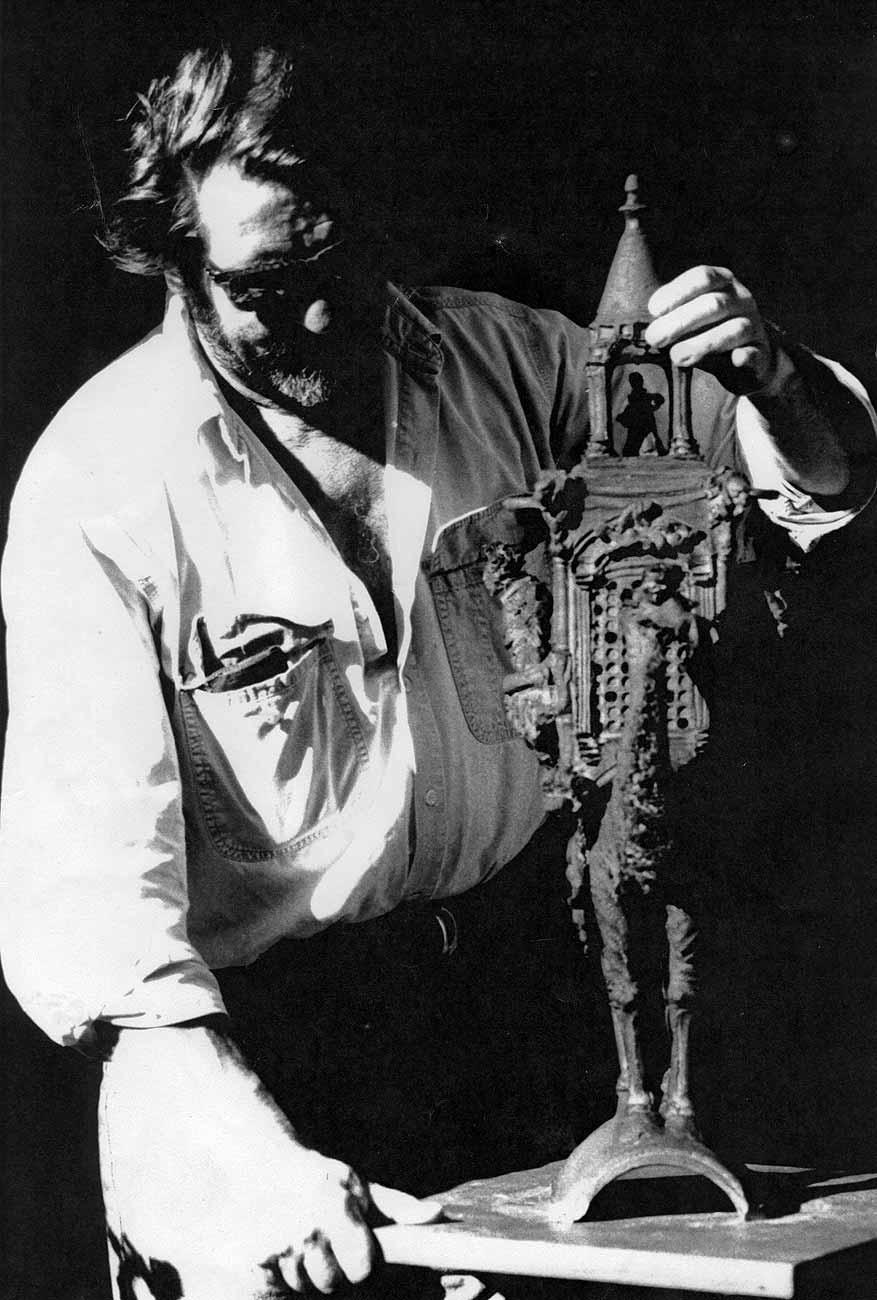 Dromadaire barbu à la mine effarée
